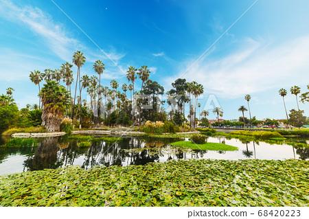 Echo park in Los Angeles 68420223