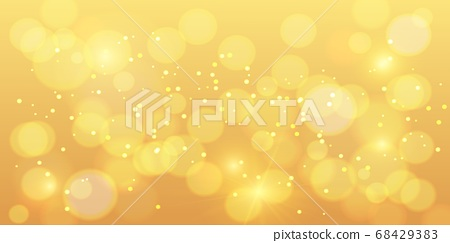 Golden bokeh background. Gold bokeh magic with orange 68429383