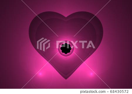 Fractal heart fantasy 68430572