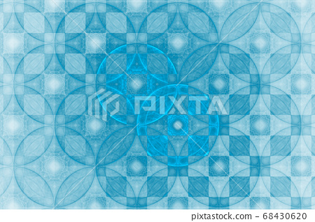 Fractal shapes fantasy pattern 68430620