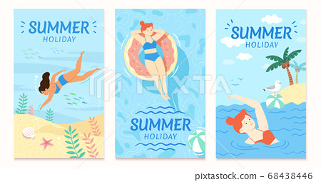 Summer sale cover template 68438446