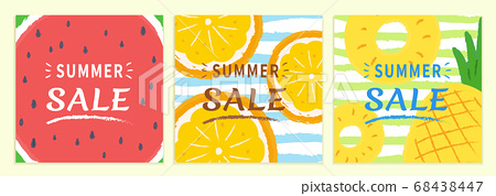 Summer sale cover template 68438447