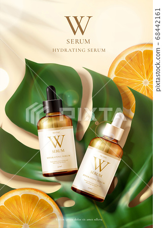 Beauty product ad template 68442161