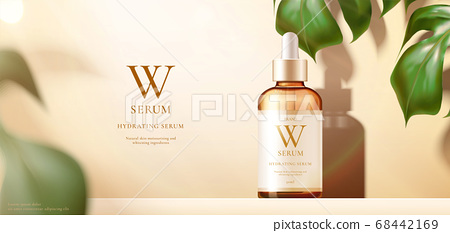 Beauty product ad template 68442169