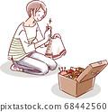 女人縫製 68442560