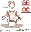 女性做飯 68442561