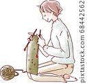 一個針織女人 68442562