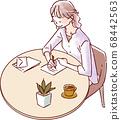寫信的婦女 68442563