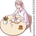 寫作的女性 68442564