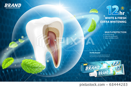 Sensitive relief toothpaste ads 68444283