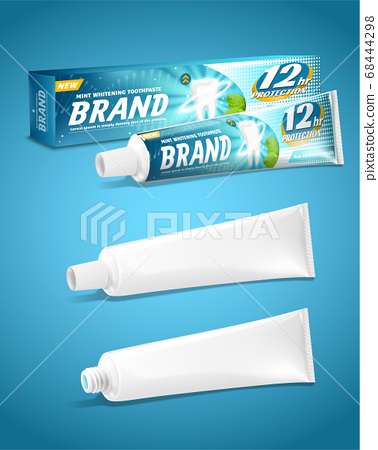 Toothpaste packaging design 68444298