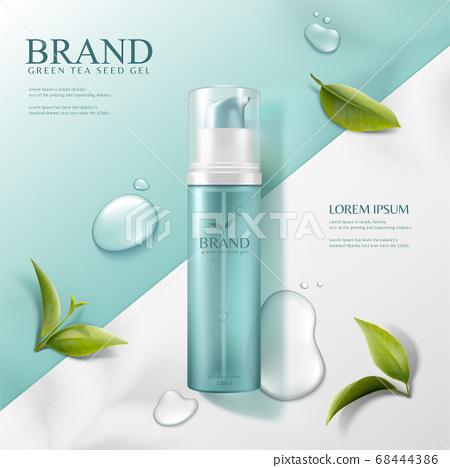 Green tea seed serum ads 68444386