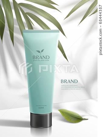 Green tea seed skincare product 68444387