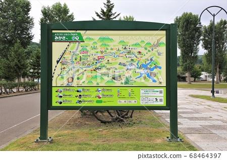 Mikasa City Tourist Information Map 68464397