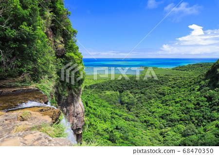 삐나이사라 폭포 폭포에서 바라 보는 절경 이리 오모테 섬 68470350