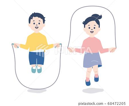 兒童跳繩 68472205