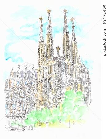 세계 유산의 거리 · 스페인 사그라 다 파밀리아 68472490