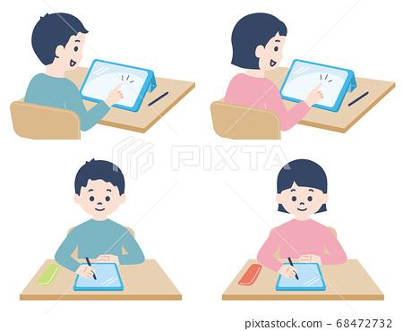 초등학생 _ 태블릿 수업 68472732