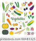 蔬菜矢量插圖集 68483325