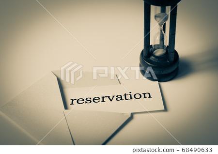 reservation 문자와 모래 예약 68490633