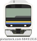 Dot picture style 209 series (Chiba/Boso local line) 68491916