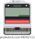 Dot picture style 205 series (Sengoku Line) 68492111