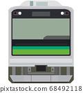 Dot picture style 205 series (Sengoku Line) 68492118