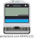 Dot picture style 205 series (Sengoku Line) 68492122
