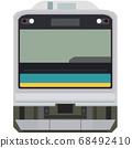 Dot picture style 205 series (Nanbu branch line) 68492410
