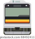Dot picture style 205 series (Nanbu Line) 68492411