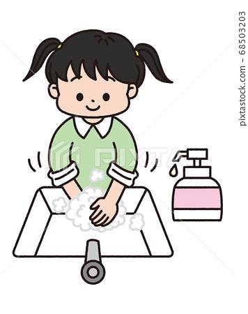 手洗 68503203