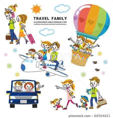 Family travel set 68504821