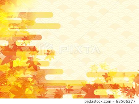 秋葉背景材料 68506277