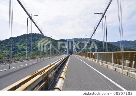 시마 나미 카이도, 자전거 전용 도로의 경치 68507182