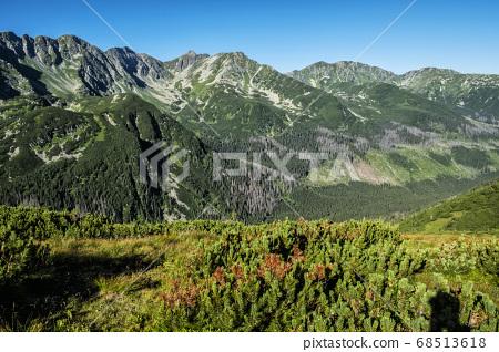 Western Tatras scenery from saddle Zabrat, 68513618
