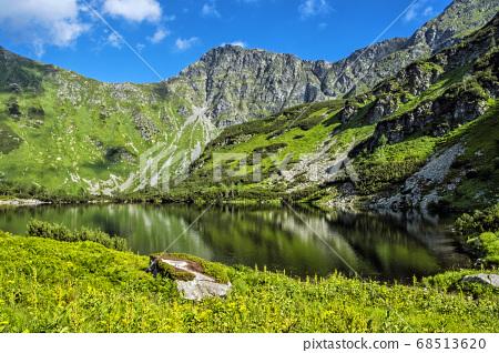 Rohac tarn, Western Tatras, Slovakia, hiking theme 68513620