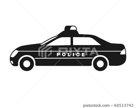警車圖標說明 68513742