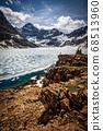 Still frozen lake 68513960