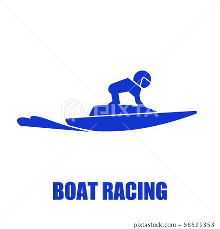 Boat race icon 68521353