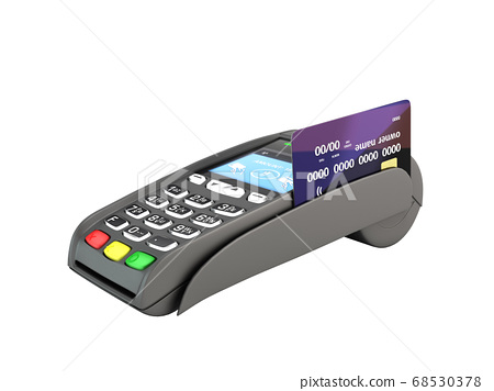 contactless payment by credit card through the 68530378