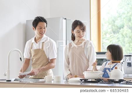 가족 요리 68530485
