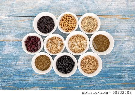 糧食,糧食,豆類 68532308