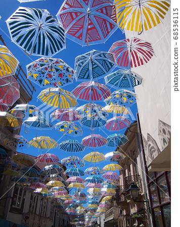 花傘雨季葡萄牙 68536115