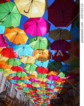 花傘雨季葡萄牙 68536118