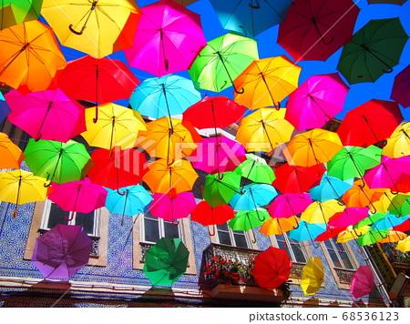 花傘雨季葡萄牙 68536123
