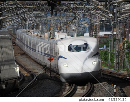 Shinkansen N700S J2 formation at Maibara station 68539132