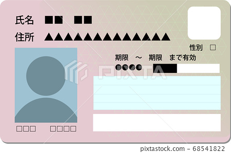 My number card image 68541822