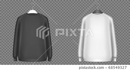 Black and white sweatshirts, longsleeves shirts 68549327