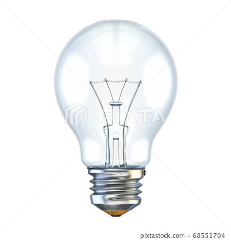 Light bulb 3D 68551704