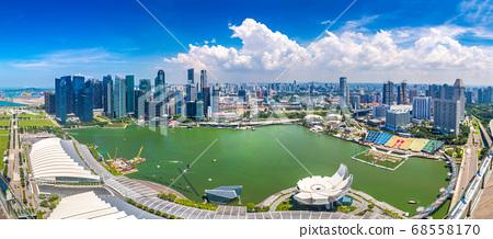 Panoramic view of Singapore 68558170